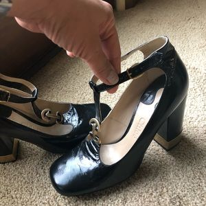 Authentic Chloe leather Mary Jane pumps 36, 6